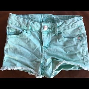 Girls justice short shorts